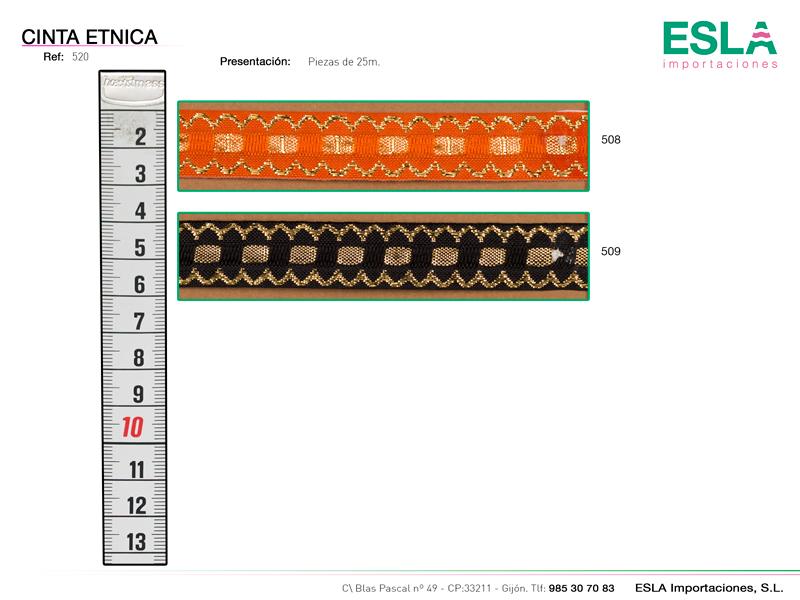 Cinta étnica ref: 520