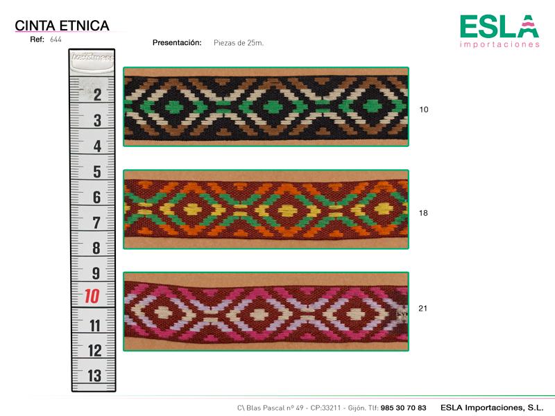 Cinta étnica ref: 644