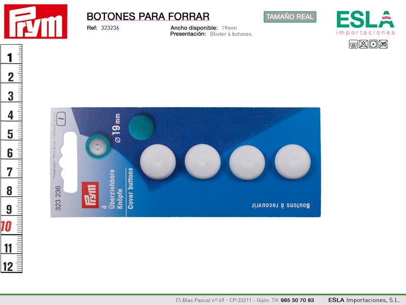 Esla importaciones somos distribuidores de botones para - Botones para forrar ...