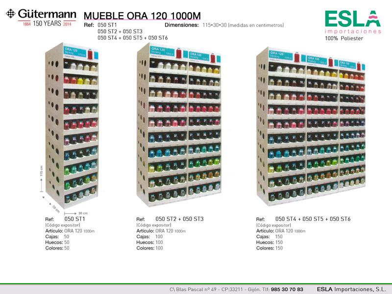 Mueble expositor ORA120, Ref 050