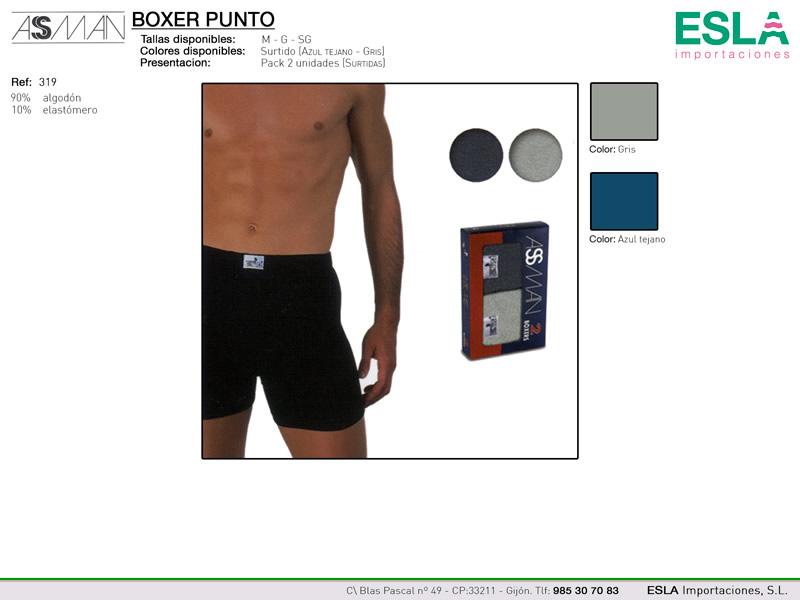Boxer punto, Asman, Ref 319