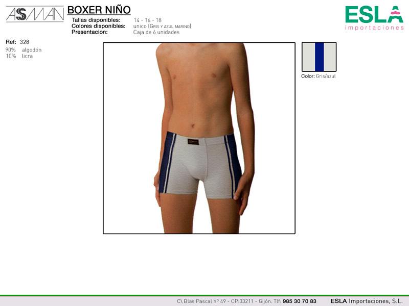 Boxer niño, Asman, Ref 328
