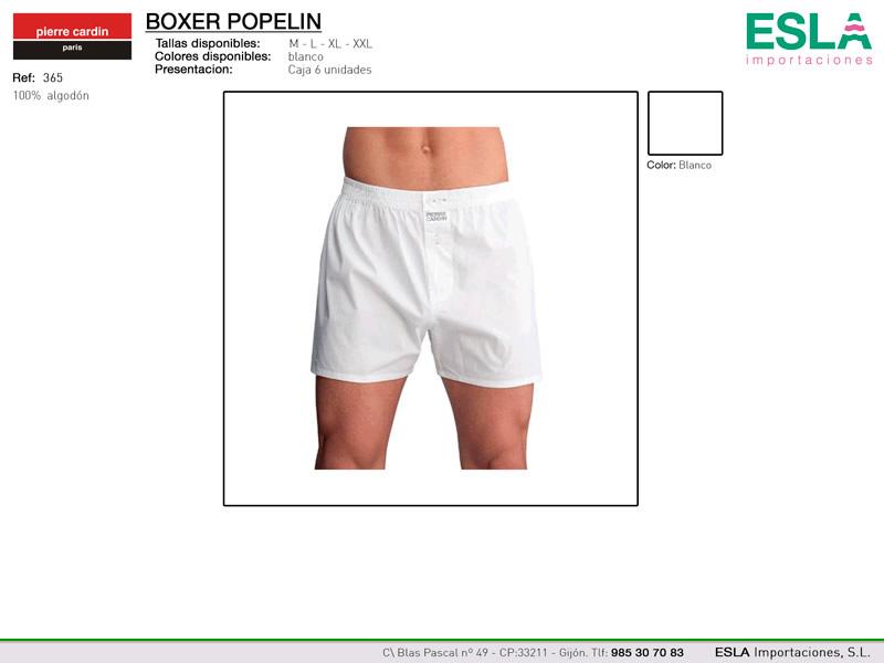 Boxer popelin, Pierre cardin, Ref 365