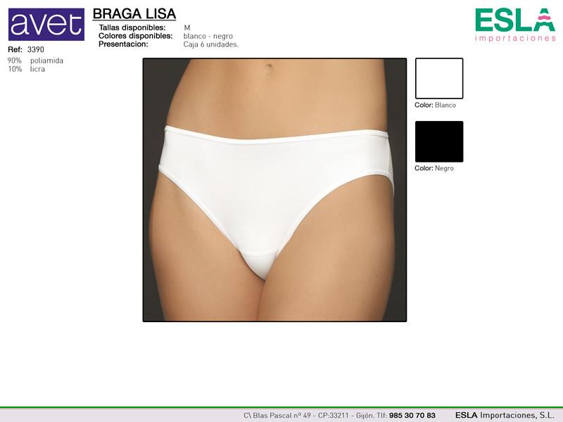Braga bikini, lisa, Avet, Ref 3390