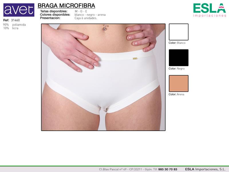 Braga alta microfibra, Avet, Ref 31460