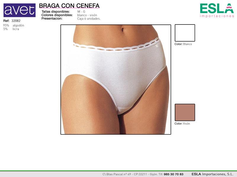 Braga con cenefa, Avet, Ref 32082