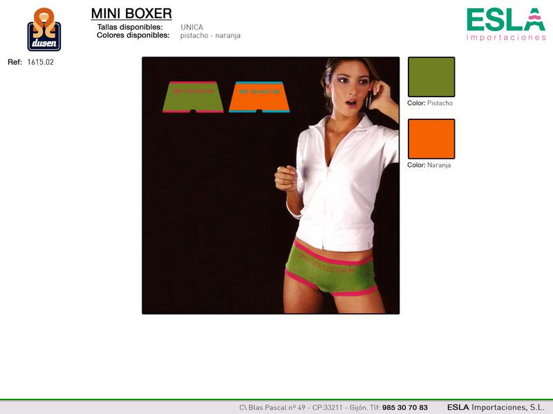 Braga Mini Boxer, Dusen, Ref 1615.02