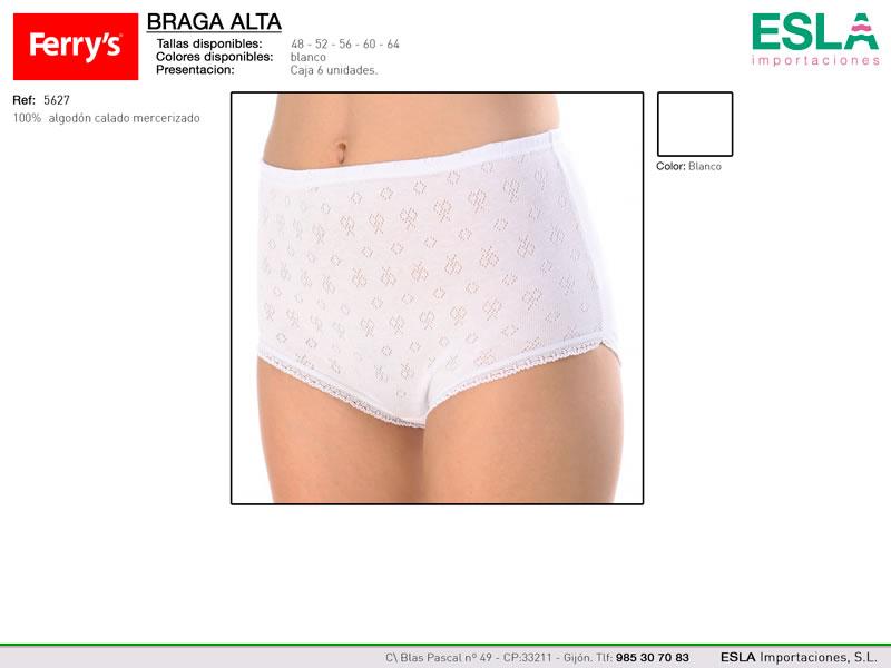 Braga alta clasica, Con dibujo, Ferrys, Ref 5627