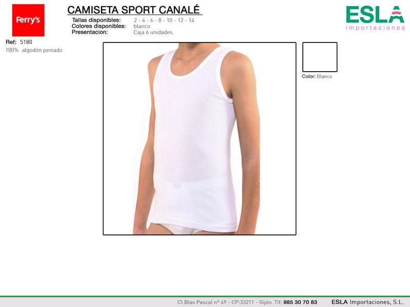 Camiseta tirantes, Tirante ancho, Ferrys, Ref 5180