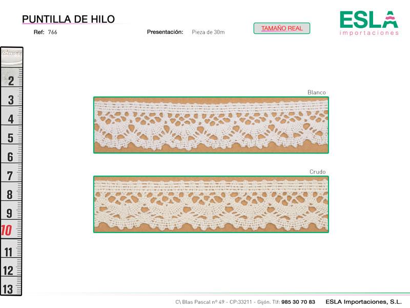 Puntilla de hilo, Familia 764, Ref 766