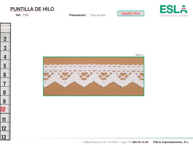 Puntilla de hilo, Familia 1159, Ref 1159