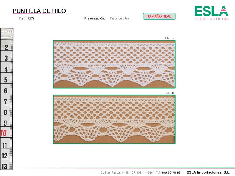 Puntilla de hilo, Familia 1271, Ref 1272
