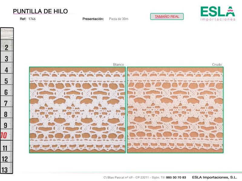 Puntilla de hilo, Familia 961, Ref 1746