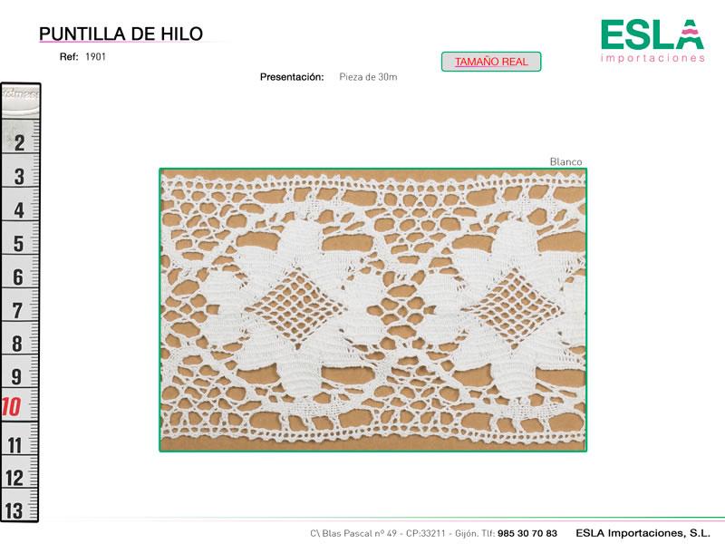 Puntilla de hilo, Familia 1900, Ref 1901