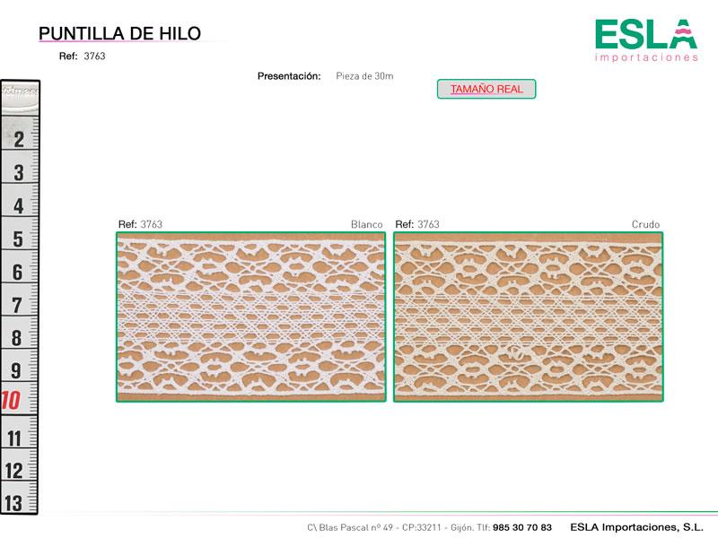 Puntilla de hilo, Familia 3762, Ref 3763