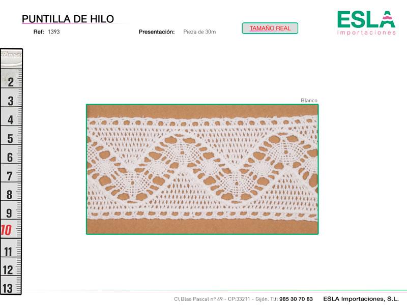 Puntilla de hilo, Familia 806, Ref 1393