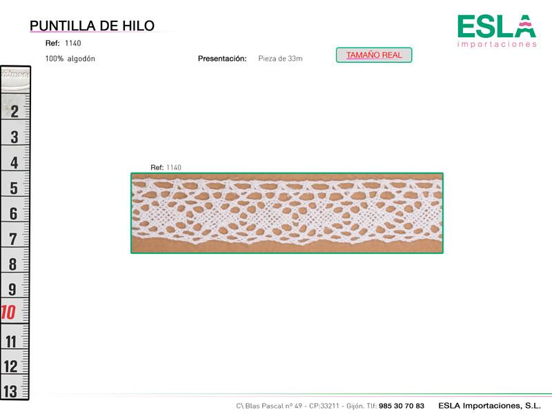 Puntilla de hilo, Familia 1120, Ref 1140