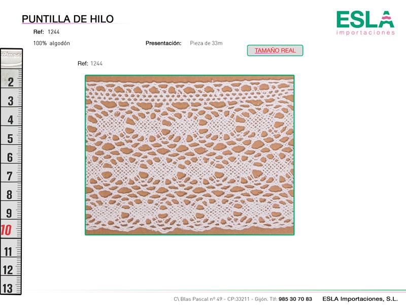 Puntilla de hilo, Familia 1120, Ref 1244
