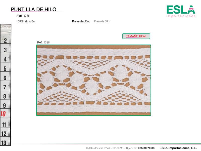 Puntilla de hilo, Familia 1321, Ref 1328