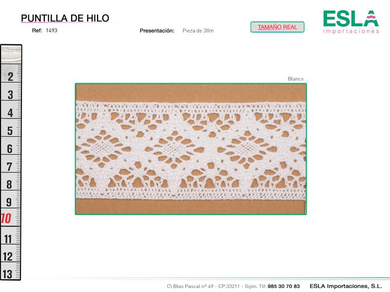 Puntilla de hilo, Familia 1492, Ref 1493
