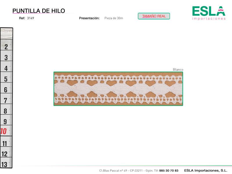 Puntilla de hilo, Familia 3145, Ref 3149