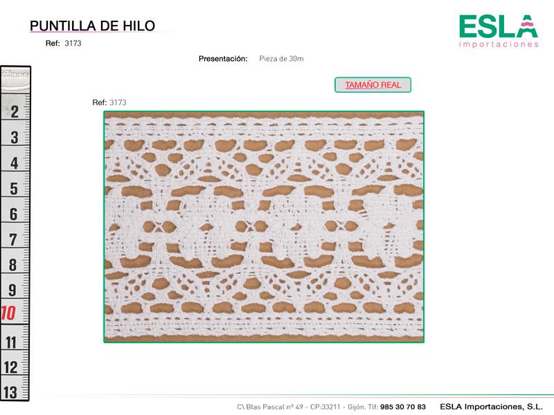 Puntilla de hilo, Familia 3152, Ref 3173
