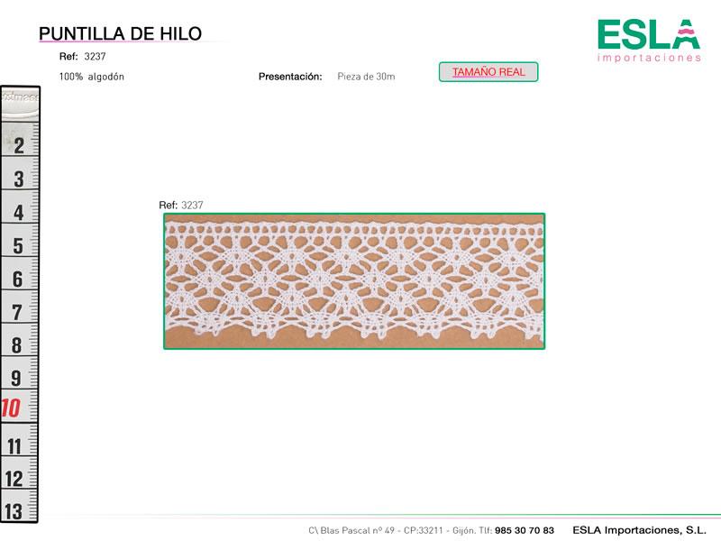Puntilla de hilo, Familia 3236, Ref 3237