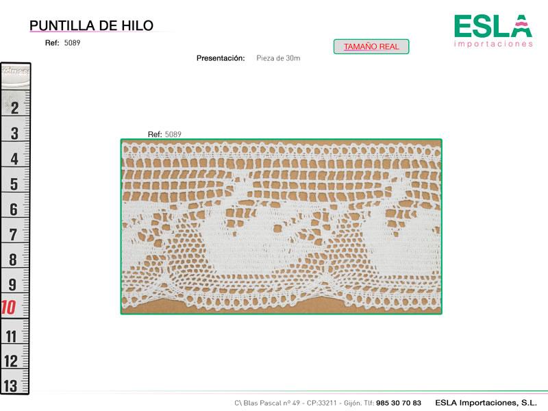 Puntilla de hilo, Familia 5089, Ref 5089