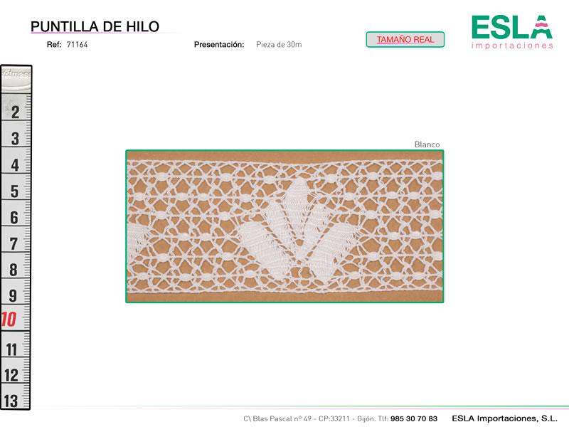 Puntilla de hilo, Familia 7503, Ref 71164