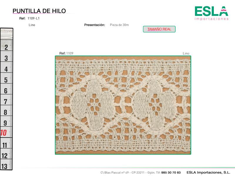 Puntilla de hilo, Familia 1108, Ref 1109