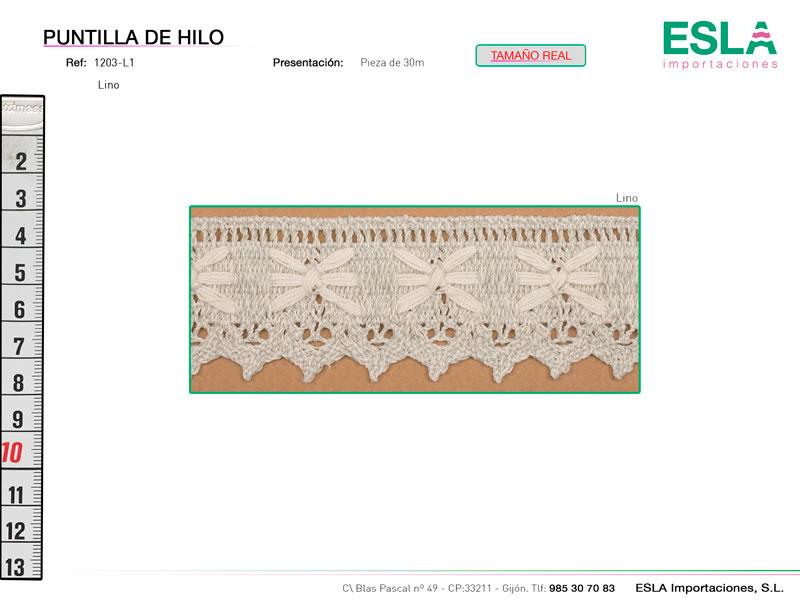 Puntilla de hilo, Familia 1203, Ref 1203