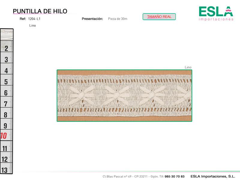 Puntilla de hilo, Familia 1203, Ref 1204