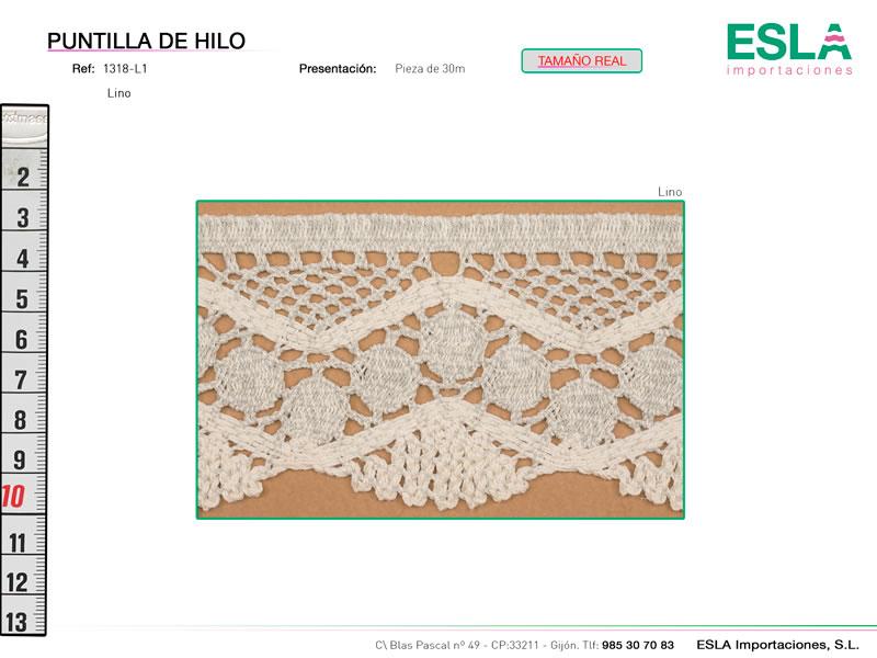 Puntilla de hilo, Familia 1318, Ref 1318