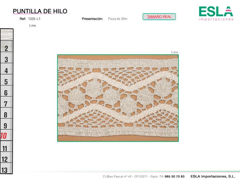 Puntilla de hilo, Familia 1318, Ref 1335