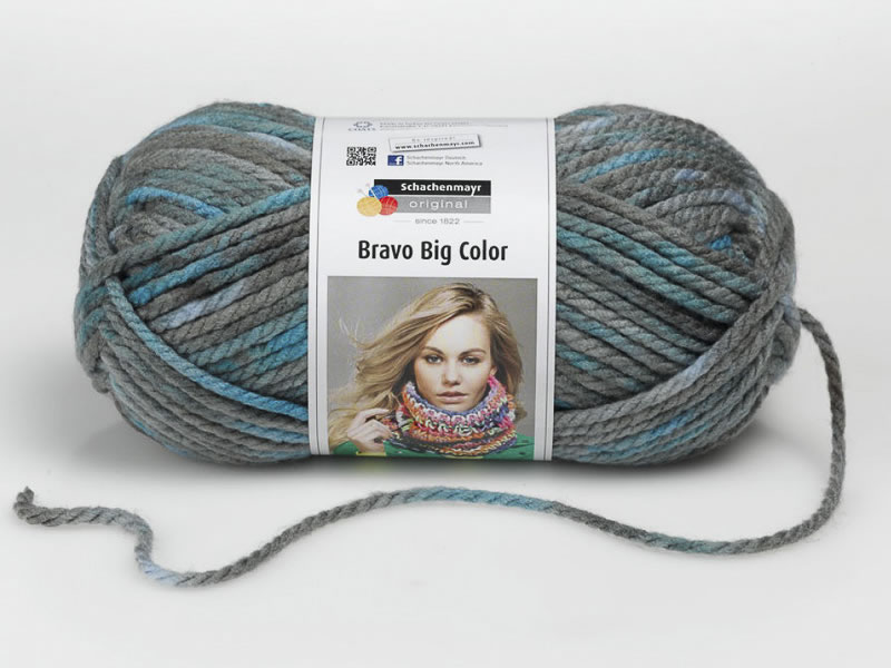 Lana Bravo Big Color, Shachenmayr, Producto, Ref 9807720