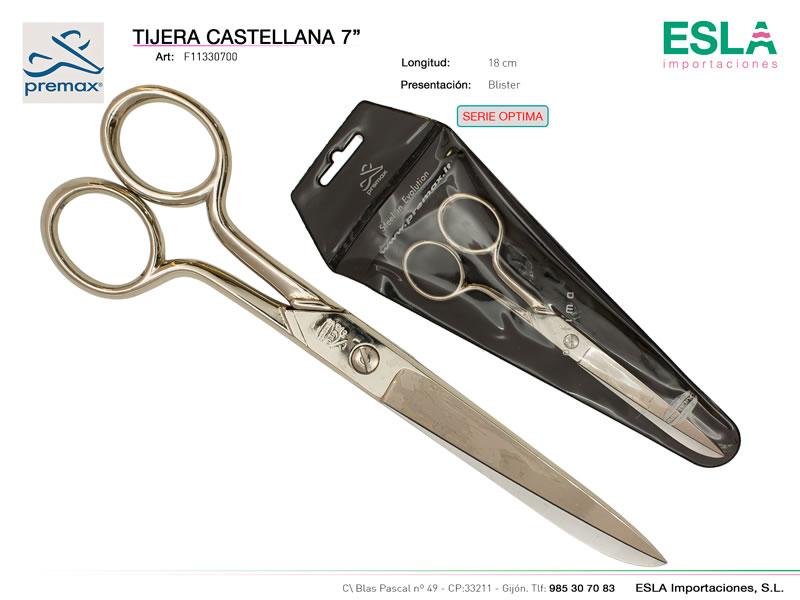 Tijera castellana 18cm, Premax, Serie optima, Ref F11330700