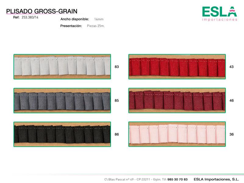 Plisado Gros Grain, Ref 253383/14
