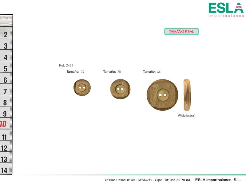 Botón madera, Ref 2461