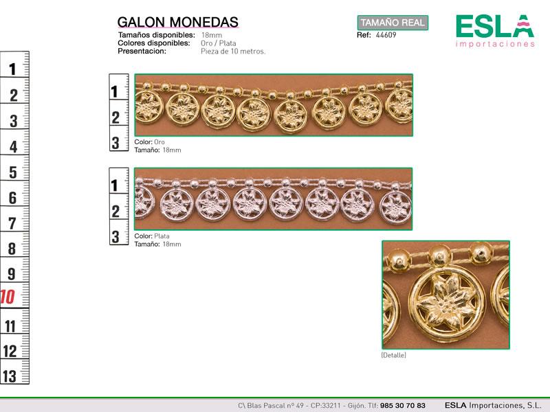Galón monedas, Carnaval, Ref 44609