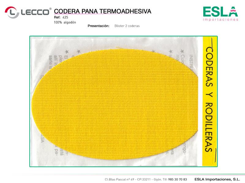 Codera pana termoadhesiva, Lecco, Ref 425