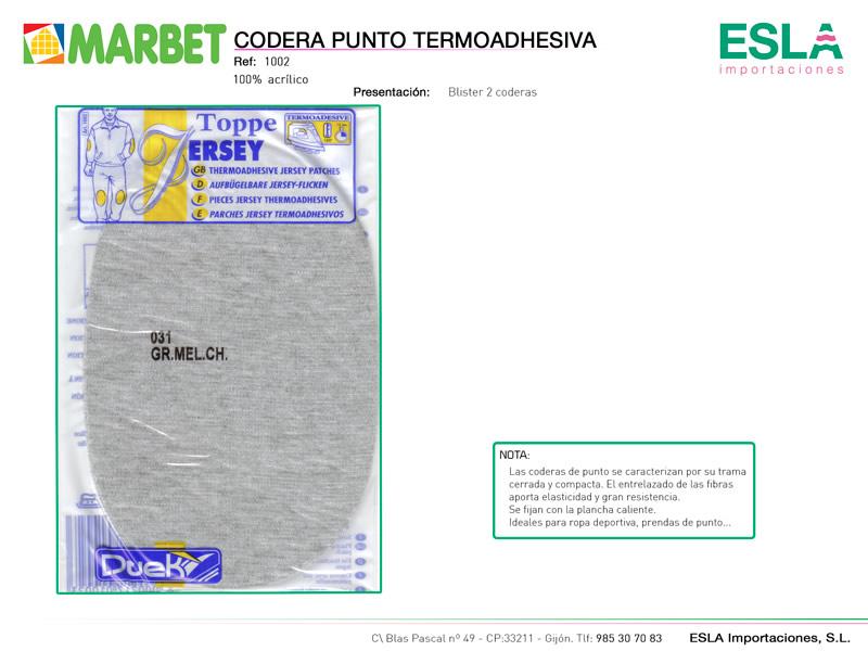 Coderas punto, Marbet, Ref 1002