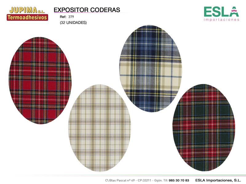Expositor coderas, Jupima, Ref 379