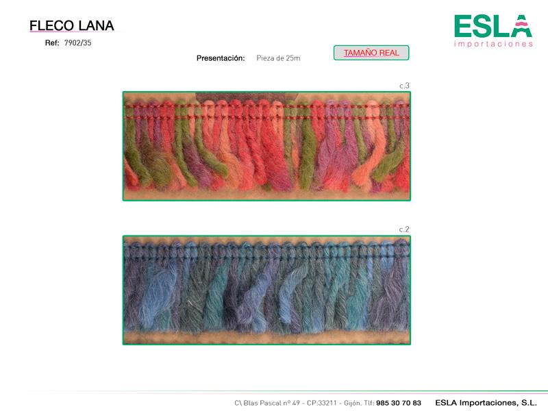 Fleco lana, Ref 7902