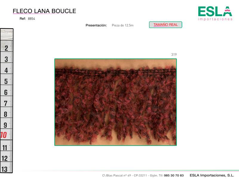 Fleco lana boucle, Ref 8854-70
