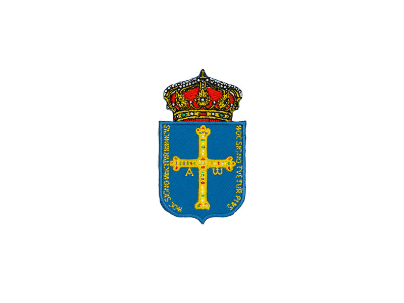 Parche termoadhesivo, Oviedo, Ref: Oviedo