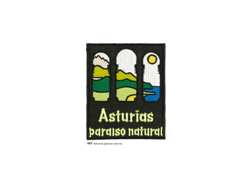 Termoadhesivo bordado, Asturias paraiso natural, Ref AST-NATURAL