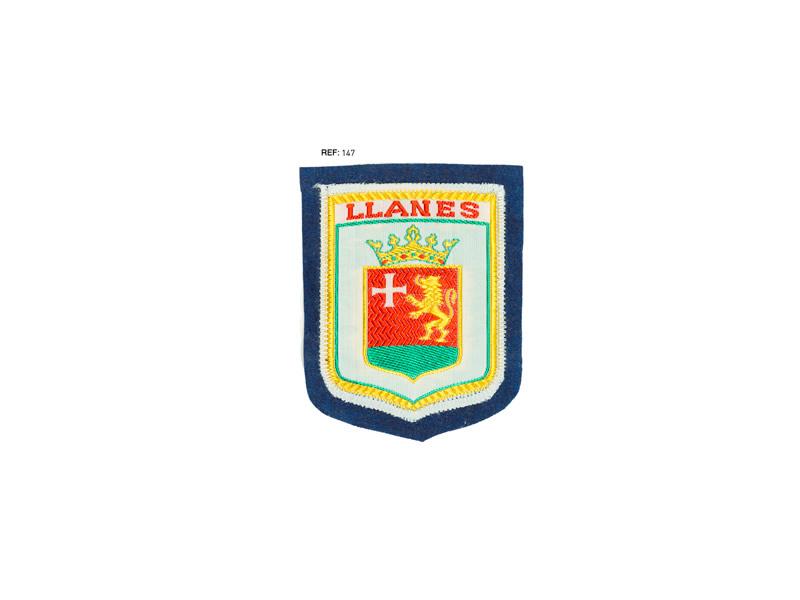Parche regional Llanes, No adhesivo, Ref 147