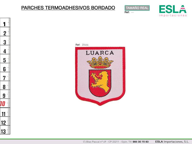 Parche termoadhesivo, regional Luarca, Ref 20464