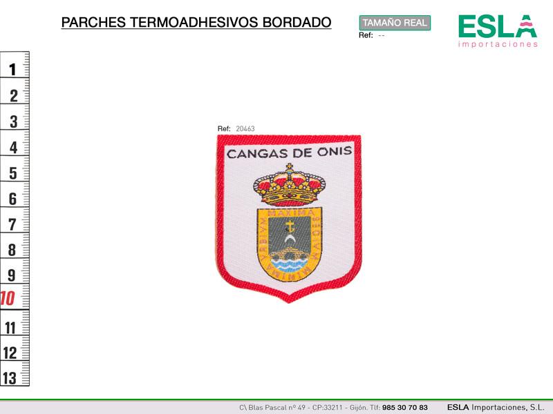 Termoadhesivo bordado regional, Cangas de Onis, Ref 20463