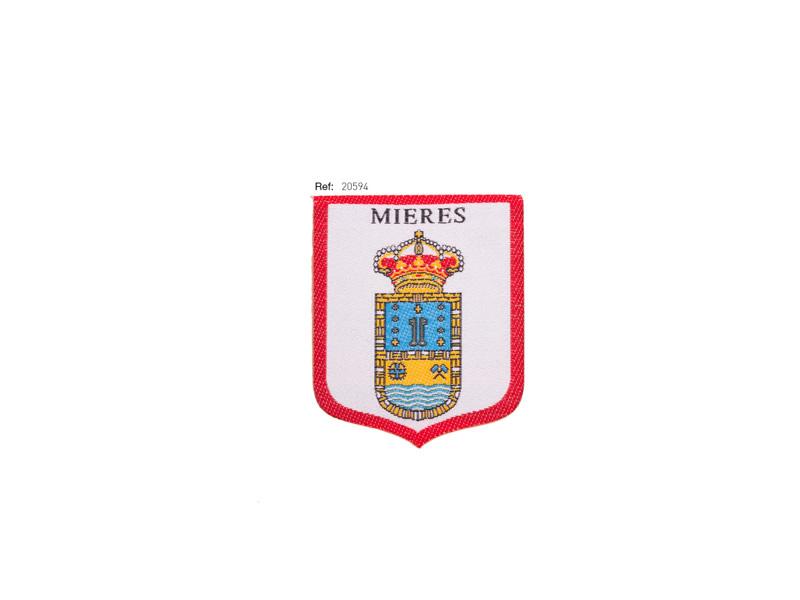 Termoadhesivo bordado, Regional, Mieres, Ref 20594
